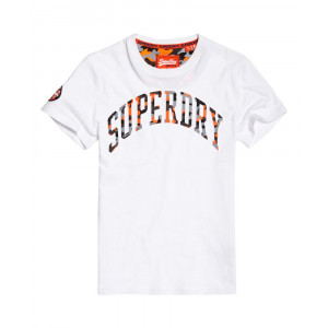 Camiseta Camo Embossed - SUPERDRY