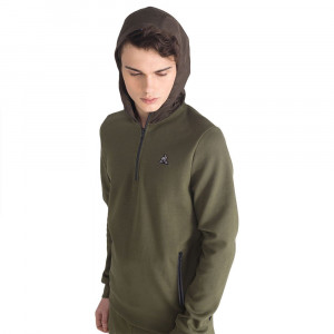 Sudadera con zip LCS Tech -...